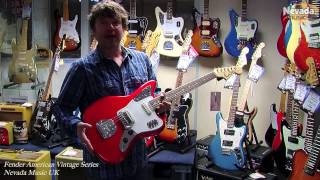 Fender American Vintage '65 Jaguar Candy Apple Red - Damon |  PMTVUK