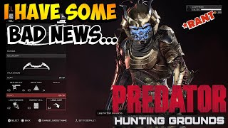 I'M DONE WITH THIS |Predator: Hunting Grounds Gameplay|