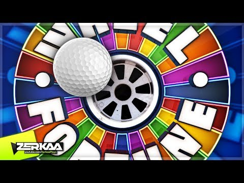 WHEEL OF FORTUNE MINIGOLF! (Golf It)