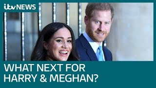 Скачать What Now For Harry And Meghan After They Choose To Reject Front Line Duties ITV News