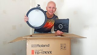 Roland TD 17 KVX Electric Drum Kit - Unboxing & Assembling