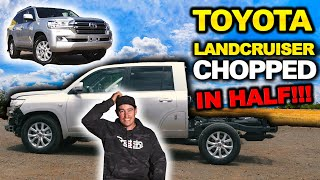Shauno's 200 Series LandCruiser Build! What NO-ONE told you about ute chops! How to do it right!