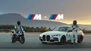 homepage tile video photo for BMW M vs. M Challenge: Trailer   BMW USA