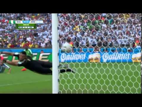 Argentina vs Nigeria 3-2 2014 -All Goals & Highlight 25/06/2014 HD