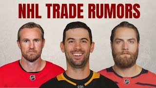 NHL Trade Rumors | Kronwall Decision | Holtby Update | Schultz Trade?