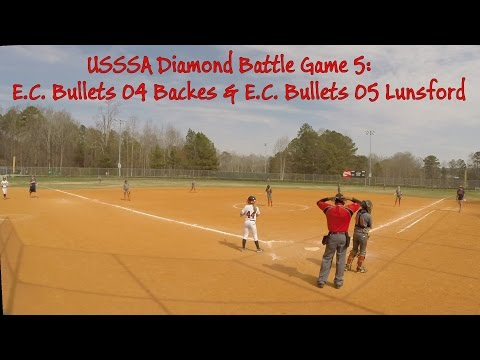 USSSA Diamond Battle Game5: EC Bullets 04 Backes & EC Bullets 05 Lunsford