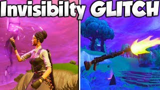 NOUVEAU Fortnite FULLY INVISIBLE GLITCH! - Fortnite Invisible GLITCH PS4/Xbox ONE!