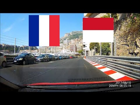 Driving along the French Riviera (Cannes-Nice-Monaco) 4x speed preview