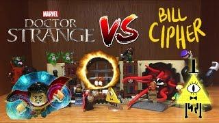 Lego Doctor Strange VS Bill Cipher!! Sanctum Sanctorum Set Review!! Dimension Wars