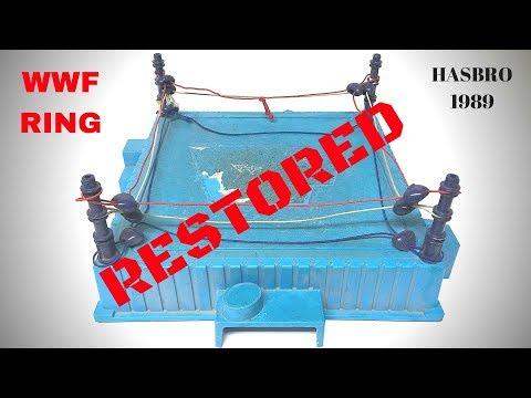 Hasbro WWF Ring RESTORED (1989)