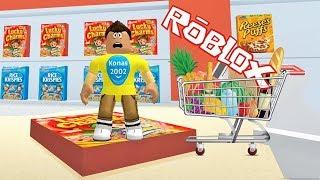 Roblox Escape the Supermarket Obby ! || Roblox Gameplay || Konas2002