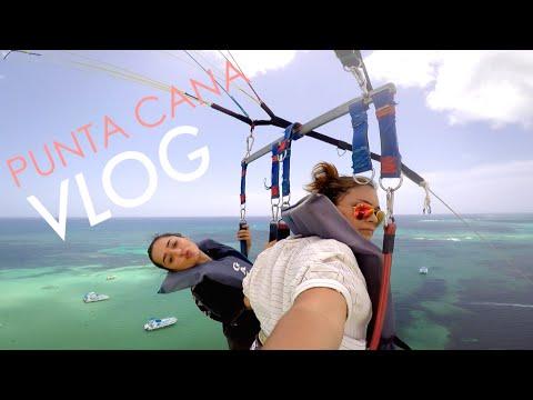 VIAJE A PUNTA CANA! Parasailing y Nadando en Lagunas!