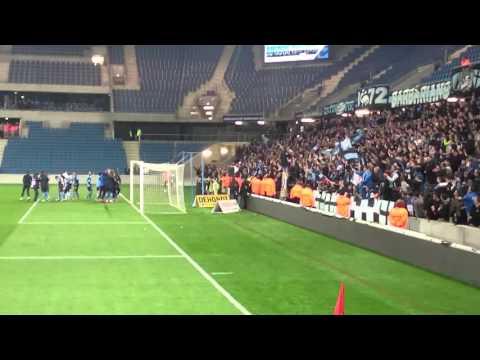 HAC vs Laval Ambiance au stade Océane chant joueurs et Cop!!!OBJECTIF LIGUE 1!!!