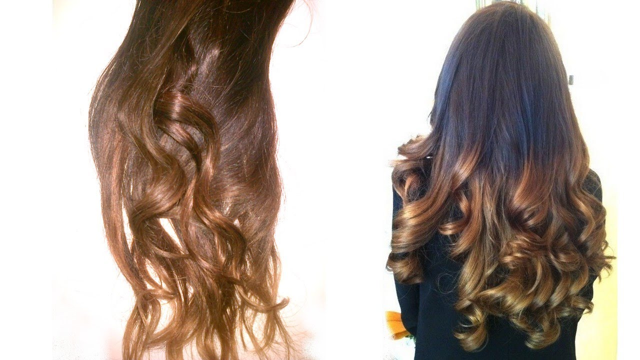 Super HOW TO : Ombré hair maison (EASY) - YouTube PG94