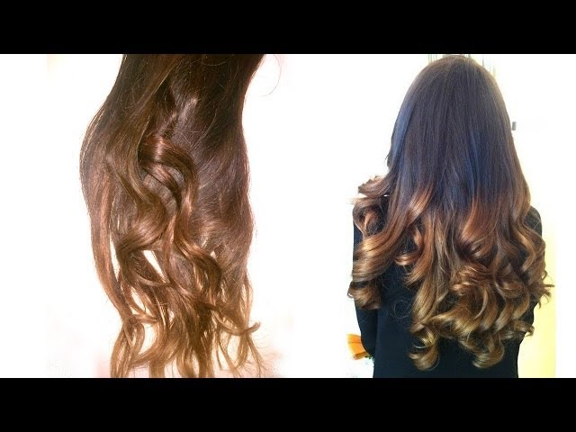 how to ombr hair maison easy youtube - Tie And Dye Coloration Maison