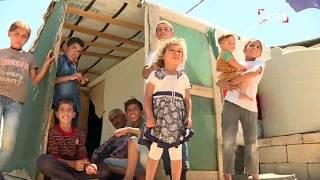 موفدة الحدث نجوى قاسم مع اللاجئين