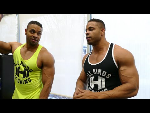 Uncut Bodybuilding Back Workout @hodgetwins