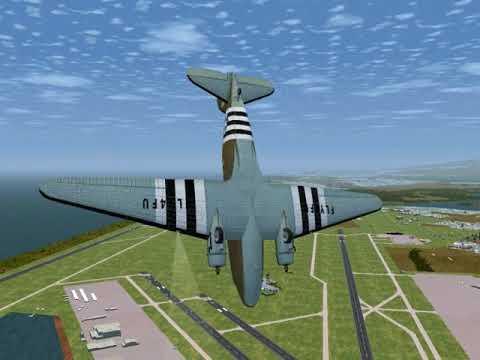 C47 from free opensource Flightgear Simulator