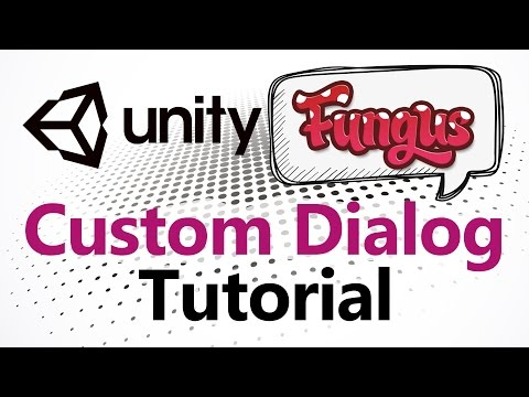 Unity 5 Fungus Tutorial - Custom Dialog Like A Comic