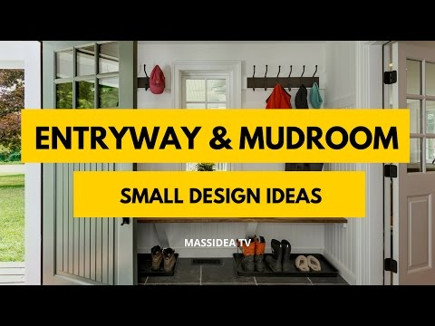50+ Best Entryway and Mudroom Small Design Ideas 2017