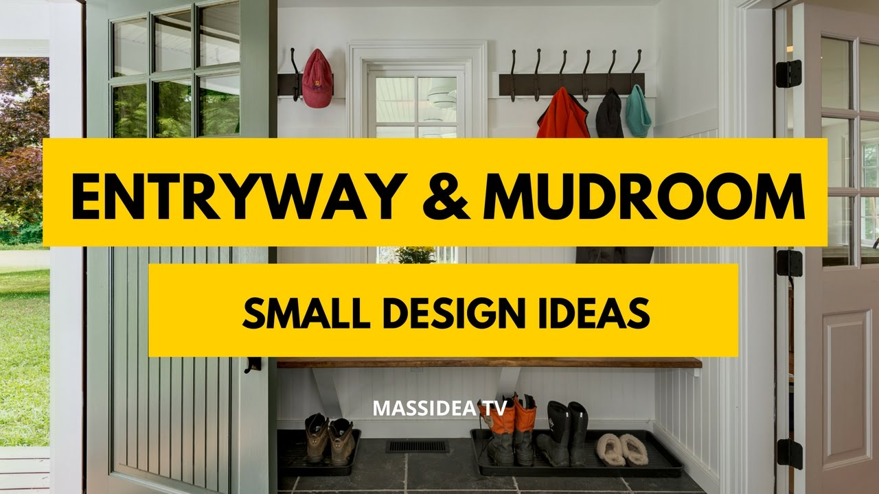 50+ Best Entryway and Mudroom Small Design Ideas 2017 - YouTube