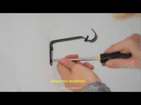Comment poser des tringles a rideaux youtube - Comment poser des oeillets sur un rideau ...