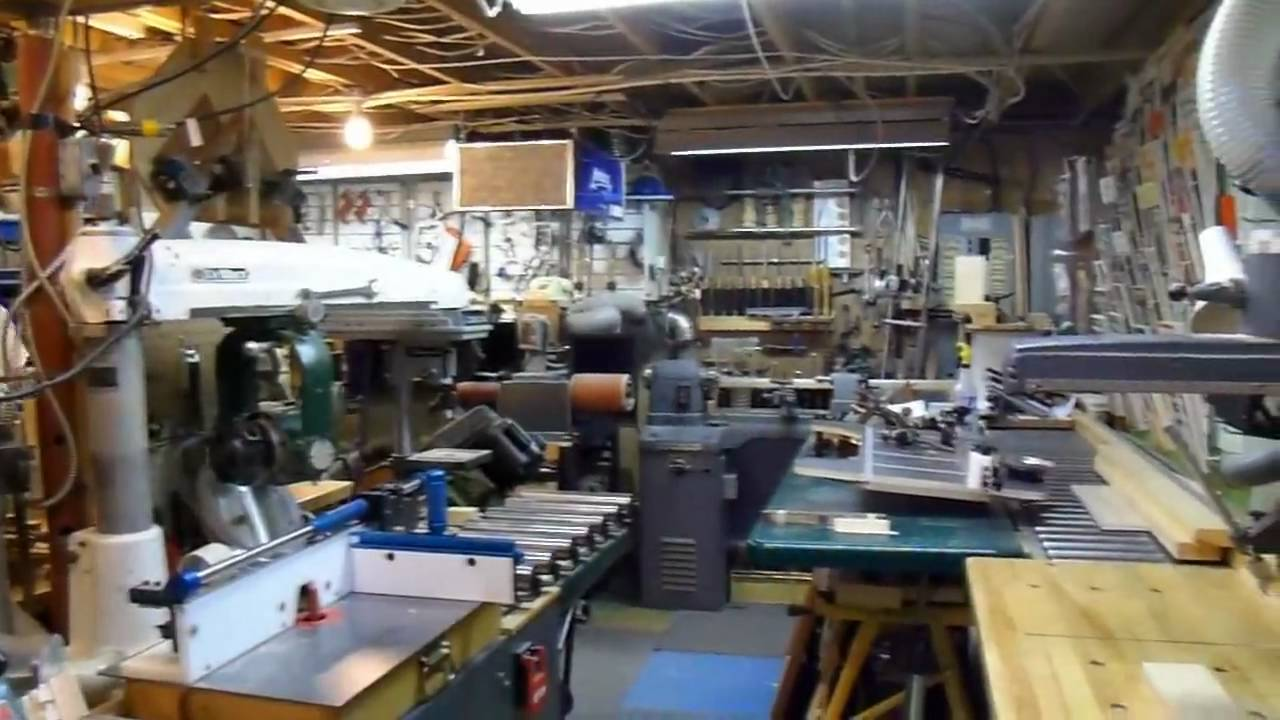 A walk through Jacques's workshop - YouTube