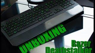 Unboxing Razer Deathstalker FR