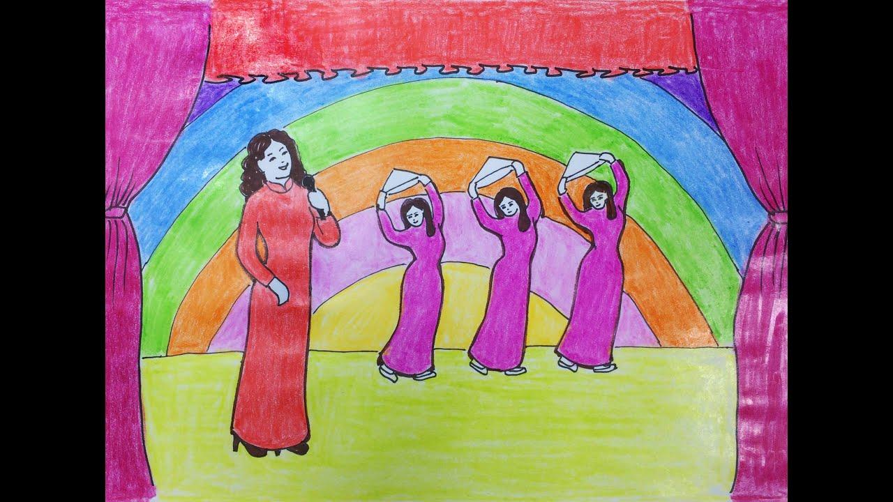 Vẽ tranh đề tài ước mơ của em – Ước mơ làm Ca Sĩ | Tóm tắt các tài liệu liên quan đến vẽ tranh ước mơ làm ca sĩ chuẩn nhất