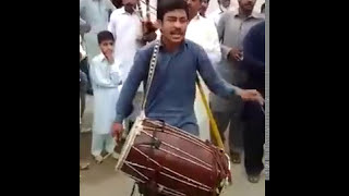 Pakistani dhol player from chakwal - shani
