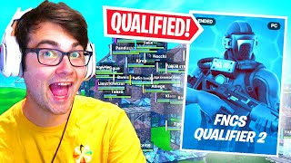 So I Played SOLO FNCS and QUALIFIED in Fortnite... (how i did it)