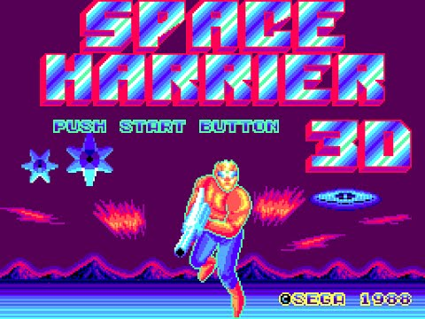 Master System Longplay [134] Space Harrier 3-D (a)