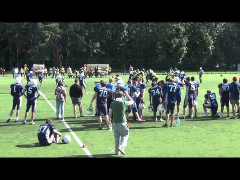 american football game ( Moscow united) vs ( Raiders 52)
