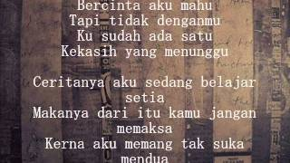 Alif Satar - Lelaki Seperti Aku (with lyrics)