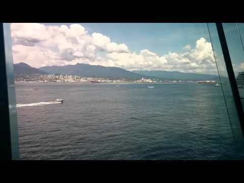 Vancouver Convention Centre panoramic view
