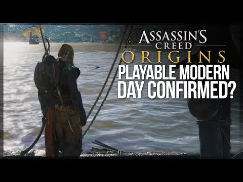 Assassin's Creed Origins | PLAYABLE MODERN DAY CONFIRMED? - GameBlog Article Talks About Modern Day!