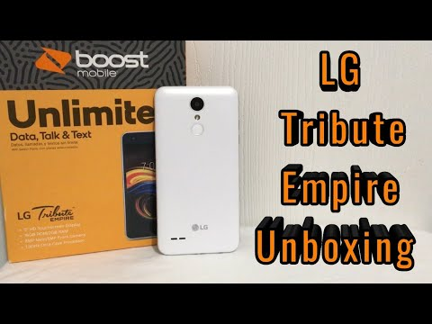 LG Tribute Empire Unboxing & First Look (Boost Mobile)