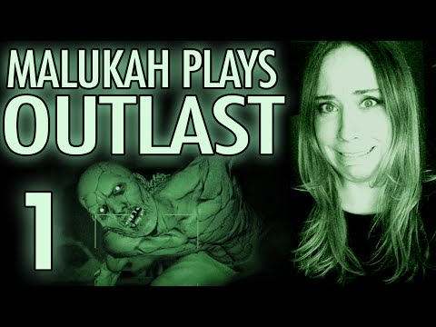 Malukah Plays Outlast Part 1