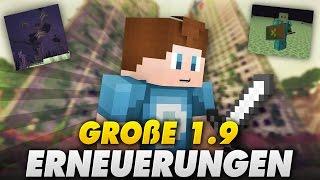 1.9 NEWS! COMBAT/NEW END - GROßE NEUERUNGEN! - Survival Games | Minecraft