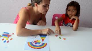 Пример занятия с ребёнком при помощи умной карточки