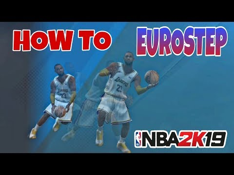 HOW TO DO EUROSTEP ON NBA 2K19 ANDROID/ IOS