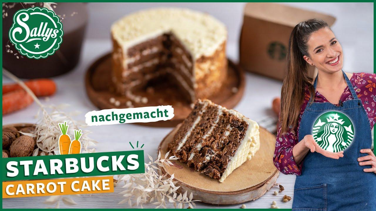 Starbucks Carrot Cake nachgemacht / Karottenkuchen mit Vanilla Frosting / Sallys Welt