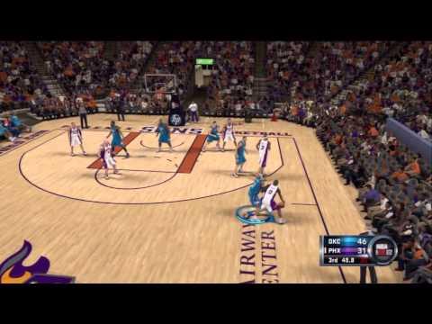 NBA 2K12:Association: Oklahoma City Thunder Vs. Phoenix Suns
