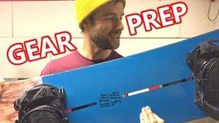 Powder Day Snowboard Gear Prep