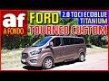 Ford Tourneo Custom Titanium   Review y prueba al detalle