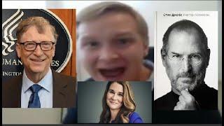 Фото Kamikadzedead бомбит на Стива джобса, Билла Гейтса и на Мелинду Гейтс.