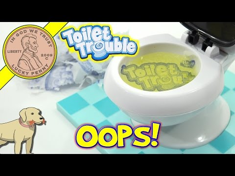 Toilet Trouble Family Game - If It