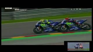 Duel Rossi Vs Vinales Ss  #full Race Motogp Motogp Sachsenring Jerman 2017
