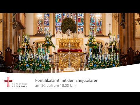 Pontifikalamt mit den
