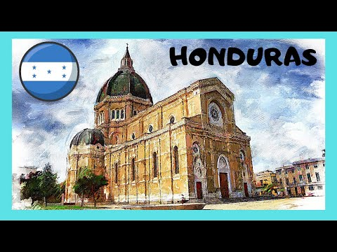 HONDURAS, the magnificent GOLDEN ALTAR of the CATHEDRAL in TEGUCIGALPA